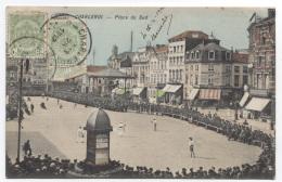 BELGIQUE - CHARLEROI - PLACE DU SUD - MATCH DE BASEBALL ? - BEAU PLAN - VOIR ZOOM - Charleroi