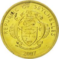 Seychelles, 5 Cents, 2007, Pobjoy Mint, SPL, Brass Plated Steel, KM:47a - Seychelles
