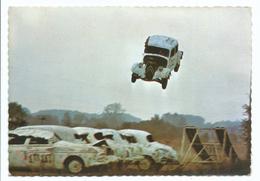 Cascadeur Equipe Jean Sunny Orléans Clery 1966 Citroen Traction Voiture Dehaut Vol - Cascade Exécuté Pour Salut à L'aven - Spectacle