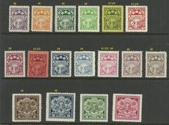 LETTLAND Latvia 1923-1925 Michel 89 - 99 & 103 - 106 & 112 - 113 * - Latvia