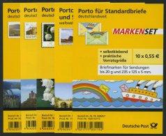 FOLIENBLÄTTER FB 13-17 **, 2011, 5 Folienblätter Komplett, Pracht, Mi. 130.- - BRD