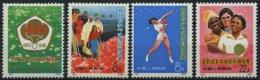 CHINA - VOLKSREPUBLIK 1140-43 **, 1973, Asiatisch-afrikanisch-latainamerikanische Tischtennismeisterschaften, Prachtsatz - Ohne Zuordnung
