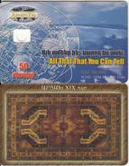 ARMENIA - Carpets 1/6, ArmenTel Test Telecard 50 Units, CN : 1234 567890, Tirage 16000, 11/02, Sample(no Chip) - Arménie