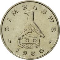 Zimbabwe, 5 Cents, 1980, FDC, Copper-nickel, KM:2 - Zimbabwe