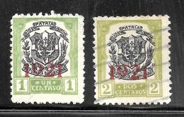 Dominican Republic 1921 SC# 227-228 - Dominican Republic