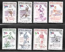 Dominican Republic 1957 SC# 474-478; C97-C99 (2) - Dominican Republic