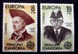 ANDORRA (SPANISH) #119-120.   Europa.  MNH (**) - Spanish Andorra