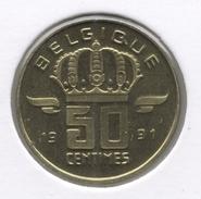 50 Cent 1991 Frans * BOUDEWIJN * F D C * - 03. 50 Centiem