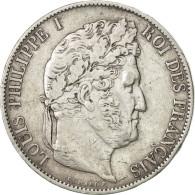 France, Louis-Philippe, 5 Francs, 1847, Bordeaux, TTB, Argent, KM:749.7,Gad 678a - France