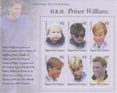 Papua New Guinea SG 975 MS 2003 Prince William 21st Birthday 2k Sheetlet MNH - Papouasie-Nouvelle-Guinée