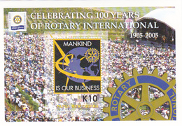 Papua New Guinea SG 1073 MS 2005 Rotary Intrernational Mini Sheet MNH - Papua New Guinea
