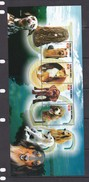 Papua New Guinea SG 1112 MS 2005 Dogs Sheetlet MNH - Papoea-Nieuw-Guinea