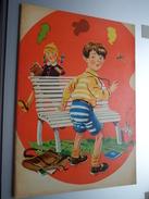KLEURBOEK Met Enige Vermelding Achteraan Op Kaft 162-63 /  Formaat +/- 24,5 X 34 Cm (  Zie Details Op Foto ) - Vieux Papiers