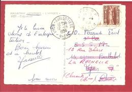 Y&T N° 289 ALGER        Vers  FRANCE   1954 2 SCANS - Algeria (1924-1962)
