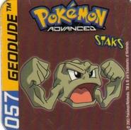 Magnets Magnet Pokemon 57 Geodude - Unclassified