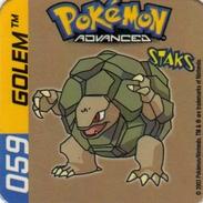 Magnets Magnet Pokemon 59 Golem - Unclassified