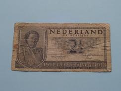 2 1/2 Gulden - 5 ZU 083287 - Twee En Een Halve Gulden 1949 ( Please See Photo ) ! - [ 3] 1815-… : Kingdom Of The Netherlands