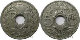 France - IIIe République - 5 Centimes Lindauer, Grand Module 1917 - TB - Fra1719 - C. 5 Centimes