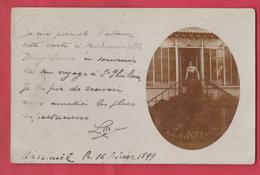 Wasmuel ... Le 16 Février 1899 ... Carte Photo  ( Voir Verso ) - Quaregnon
