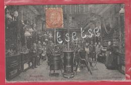 Brugelette - Top Carte - Magasin A. Delhaye , Intérieur , Fers Et Quicailleries -1911 ( Voir Verso ) - Brugelette