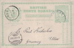 Brit. Nord Borneo  -alte Ganzsache - ( K8304  ) Siehe Scan - Non Classés