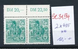 DDR  2x 415  **   ( Se3154  ) Siehe Scan - [6] Democratic Republic