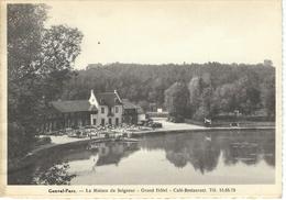 GENVAL - PARC : La Maison Du Seigneur - RARE VARIANTE - Cachet De La Poste 1939 - Rixensart