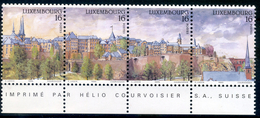 LUXEMBOURG 1995 YVERT N°  1313-14-15-16 SE TENANT LUXE ** - Unused Stamps