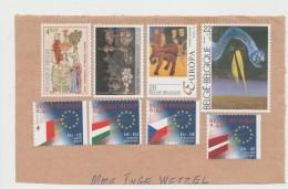 Belgien 020 / Briefteil Mit 8 Marken 2017 - Belgien