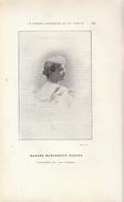 1901 - Portrait De Marguerite Durand (Paris 1864 - 1936) - Journaliste Féministe - FRANCO DE PORT - Vieux Papiers