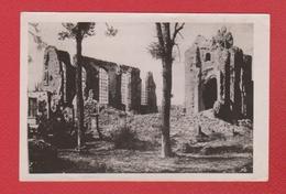 Photo  --  Langemark  --  Eglise En Ruine - Langemark-Poelkapelle
