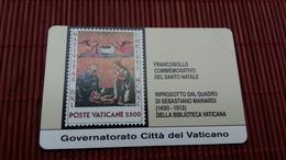 Phonecard Vatican SCV 3 (Mint,Neuve) Very Rare - Vatican