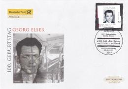 Germany FDC 2003 Georg Elser  (T19-13) - [7] Federal Republic