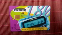 Phonecard Aruba Only 80.000 Made  Rare - Aruba