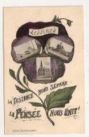 LESSINES / LA DISTANCE NOUS SEPARE LA PENSEE NOUS UNIT  CPA633 - Lessines