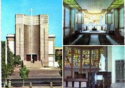 Afrique - Djibouti - Cathédrale Nd Mère Du Bon Pasteur - Nef Avec Maitre Autel Et Baptistère - Djibouti