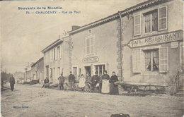 """Chaudeney  """" Rue De Toul  - Café Restaurant - Maréchalerie  """" - Toul"""