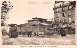 ¤¤  -  2185  -  PARIS   -   Le Marché De La Rue De Meaux  -  Les Halles  -  Tramway  -  ¤¤ - Arrondissement: 19