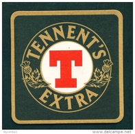 UNITED KINGDOM  -  Tennents Extra  Beer Mat  As Scans - Beer Mats