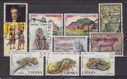 Vicenté Lopez, Nicaragua, Noel 1973 - ESPAGNE - Mousquetaires, Europa 1974, Juan, Peinture Rupestre: Cheval, Reptiles - 1931-Hoy: 2ª República - ... Juan Carlos I