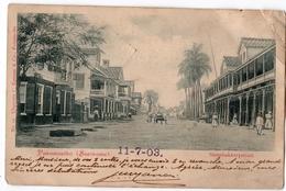 D13035 - SURINAME -  PARAMARIBO - Steenbakkerystraat - Surinam