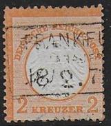 ALLEMAGNE  N° 8  -- Cote : 200 €  -- Signé Brun - Allemagne