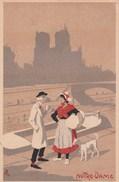 Illustrateur AL - PARIS - NOTRE DAME - Barque Chien - Illustrateurs & Photographes