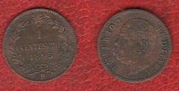 Un Centesimo 1895 R Umberto I° Regno D'Italia - 1861-1946 : Regno