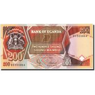 Uganda, 200 Shillings, 1991, KM:32b, 1991, NEUF - Ouganda