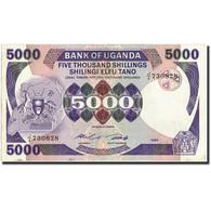 Uganda, 5000 Shillings, 1985, 1985, KM:24a, TTB+ - Ouganda