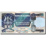 Uganda, 100 Shillings, 1988, KM:31b, 1988, NEUF - Uganda