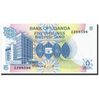 Uganda, 5 Shillings, Undated (1982), KM:5a, Undated (1982), SPL - Uganda