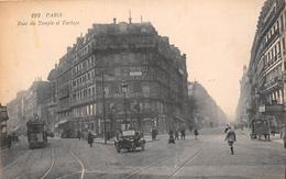 ¤¤  -   192  -  PARIS   -  Rue Du Temple Et Turbigo   -  ¤¤ - Arrondissement: 03