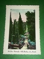 Cartolina Ventimiglia - Villa Hanbury - La Mortola 1945 Ca - Imperia